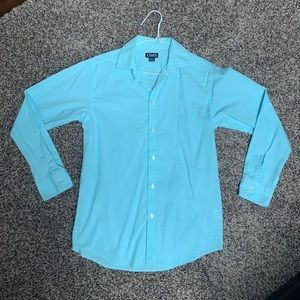 Chaps Large (14-16) Boys Long Sleeved Button Down